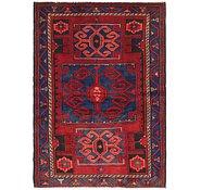 Link to 4' 6 x 6' 7 Hamedan Persian Rug