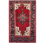 Link to 5' 3 x 8' Hamedan Persian Rug