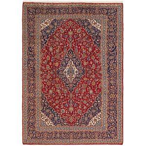 9' 8 x 13' 8 Kashan Persian Rug