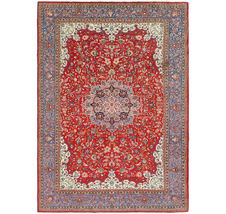 10' 2 x 14' 5 Isfahan Persian Rug