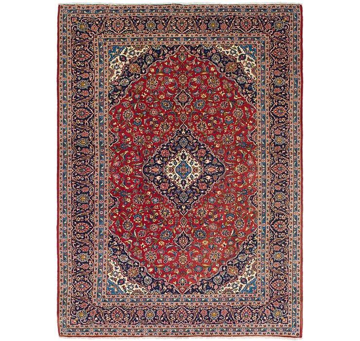 9' 8 x 13' 2 Kashan Persian Rug