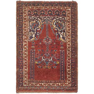 Link to 2' 7 x 3' 9 Lahour Oriental Rug item page