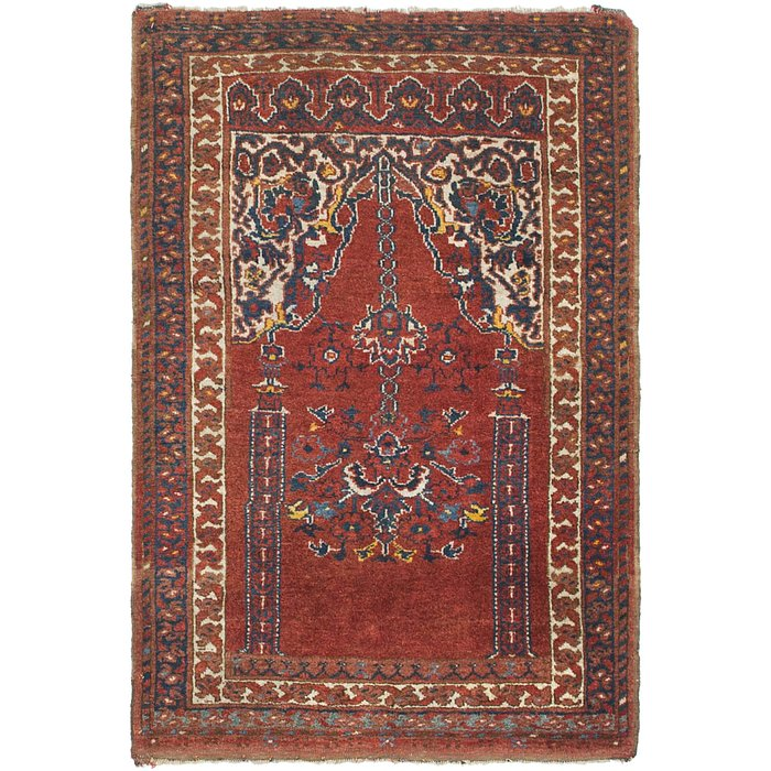 2' 7 x 3' 9 Lahour Oriental Rug