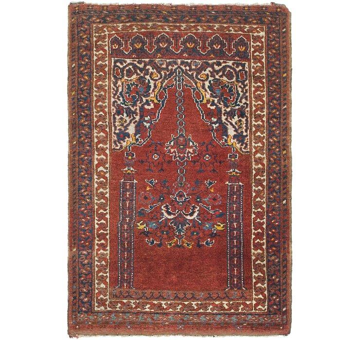 2' 7 x 3' 9 Lahour Oriental Rug
