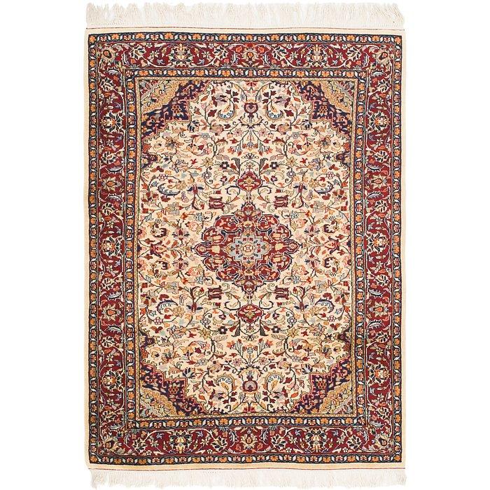 4' 5 x 6' 5 Jaipur Agra Oriental Rug