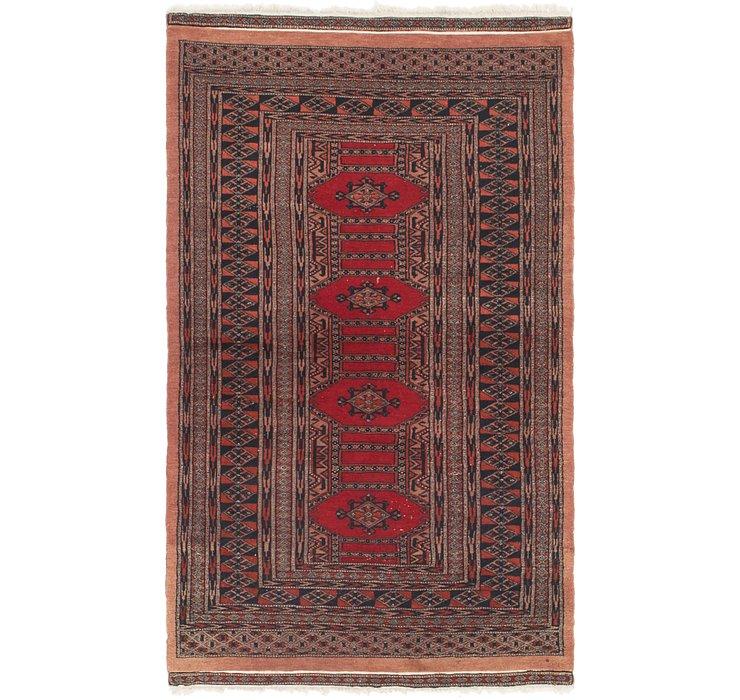 90cm x 160cm Bokhara Oriental Rug
