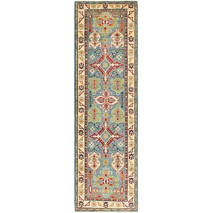Link to 2' 9 x 9' 9 Kazak Runner Rug item page