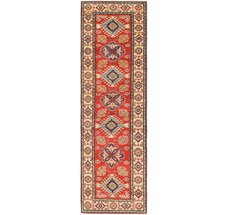 2' 9 x 9' 5 Kazak Runner Rug