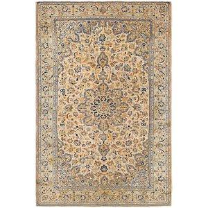 8' x 12' 5 Kashan Persian Rug