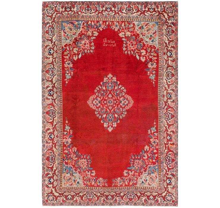 7' 5 x 11' 3 Mahal Persian Rug