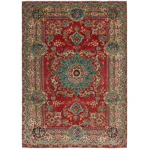 Link to 7' 9 x 11' 2 Tabriz Persian Rug item page