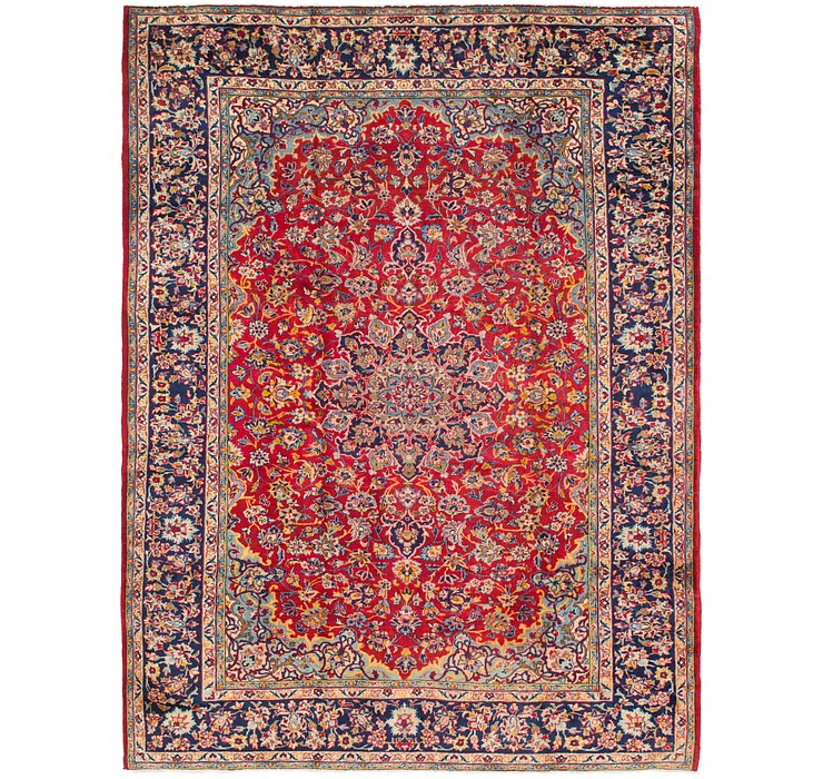8' 9 x 11' 5 Isfahan Persian Rug