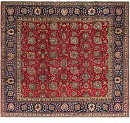 Link to 9' 4 x 10' 6 Tabriz Persian Square Rug