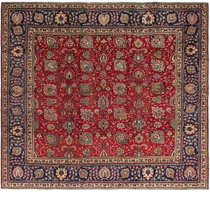 9' 4 x 10' 6 Tabriz Persian Square Rug