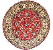 Link to 7' 10 x 8' Kazak Round Rug