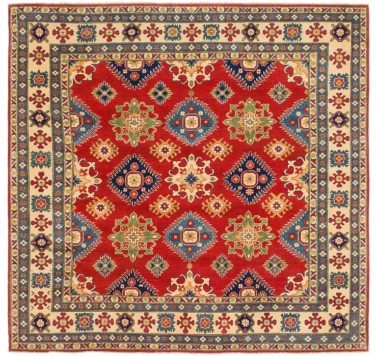 7' 8 x 8' Kazak Square Rug