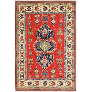 Unique Loom 6' 5 x 9' 9 Kazak Rug
