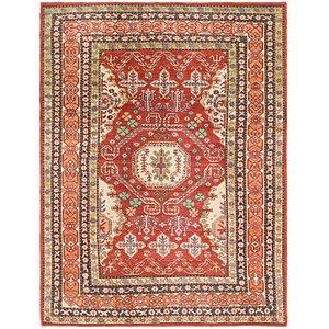 Unique Loom 7' x 9' 3 Kazak Rug