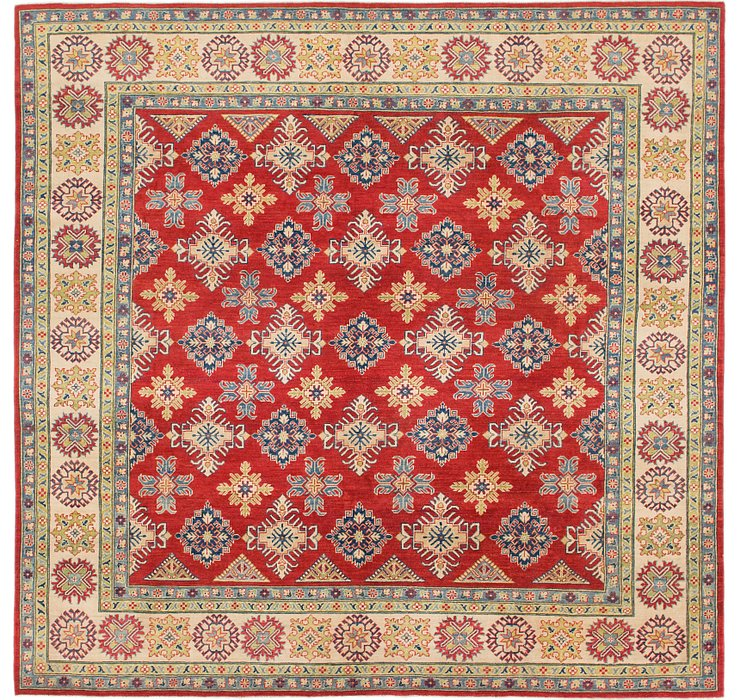 9' 8 x 10' Kazak Square Rug