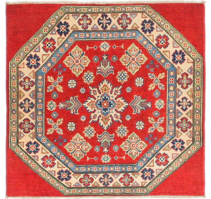3' 3 x 3' 3 Kazak Square Rug