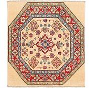 Link to 3' x 3' 5 Kazak Square Rug