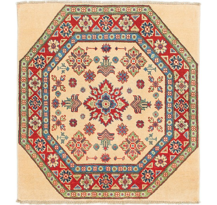3' x 3' 5 Kazak Square Rug