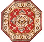Link to 7' x 7' 2 Kazak Octagon Rug