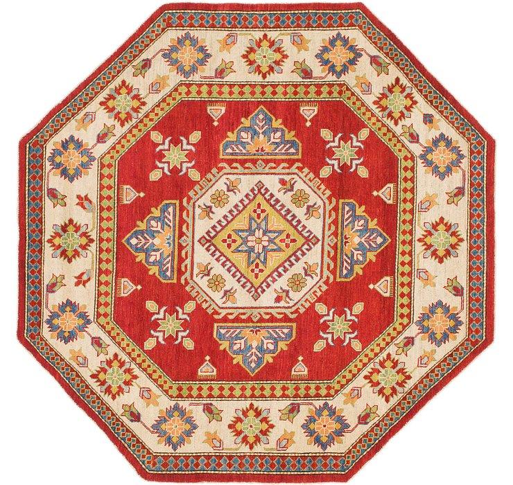 213cm x 218cm Kazak Octagon Rug