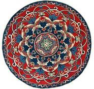 Link to 6' 5 x 6' 6 Kazak Round Rug