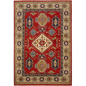 Unique Loom 6' 7 x 9' 8 Kazak Rug
