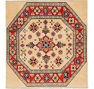 Link to 147cm x 152cm Kazak Square Rug