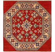 Link to 4' 10 x 5' 2 Kazak Square Rug