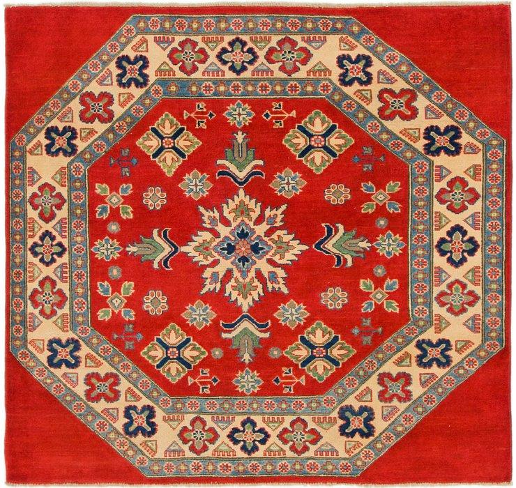 147cm x 152cm Kazak Square Rug