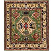 Link to 6' 6 x 7' Kazak Square Rug