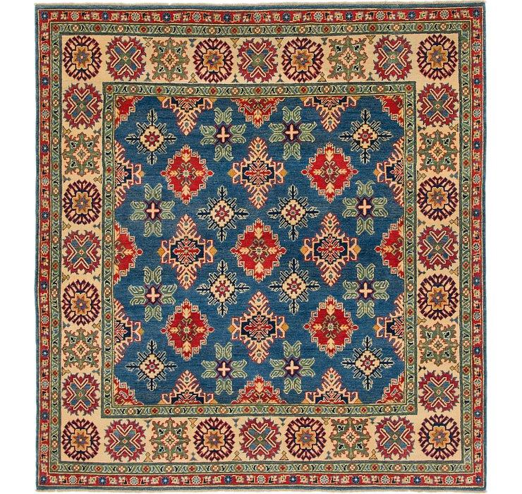 6' 6 x 7' Kazak Square Rug