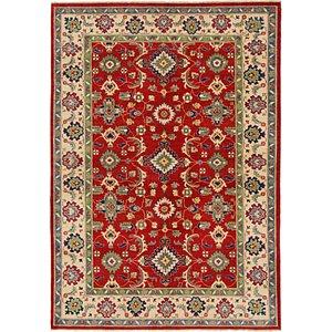 Unique Loom 6' x 8' 7 Kazak Rug