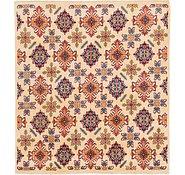 Link to 6' 5 x 7' Kazak Square Rug