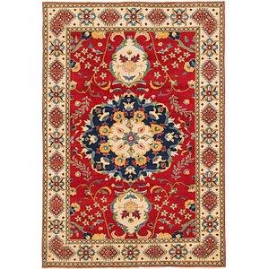 Unique Loom 6' 3 x 8' 10 Kazak Rug