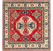Link to Unique Loom 6' 6 x 6' 9 Kazak Square Rug