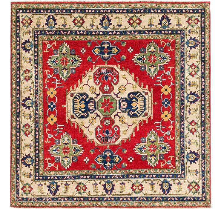 198cm x 205cm Kazak Square Rug