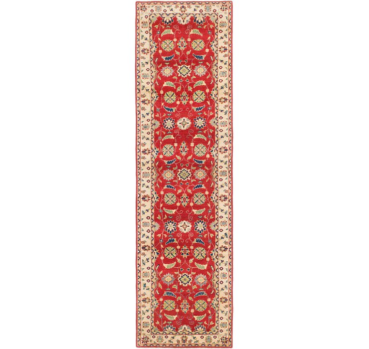 2' 8 x 9' 8 Kazak Runner Rug