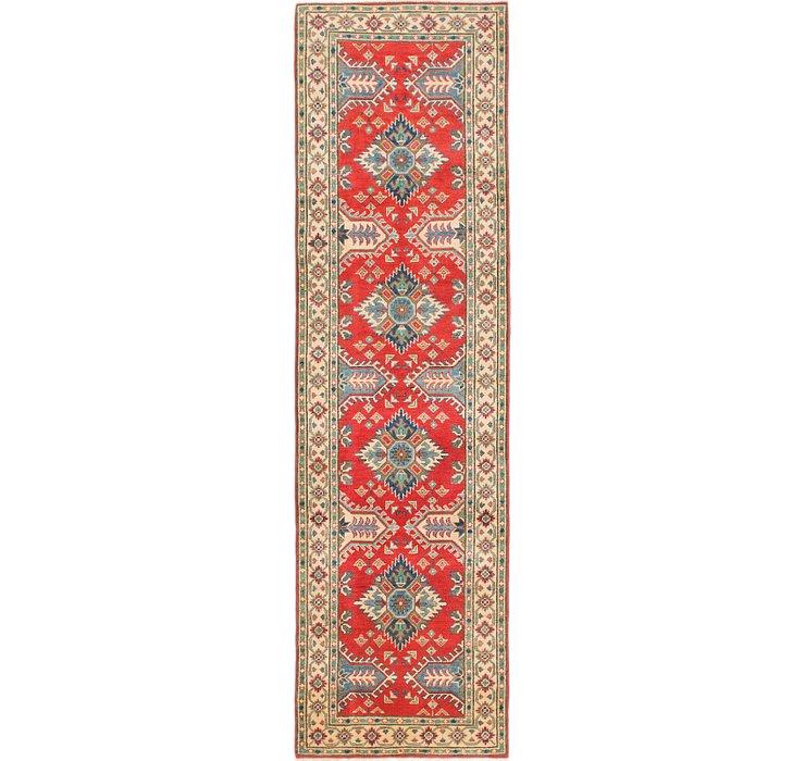 2' 8 x 9' 7 Kazak Runner Rug