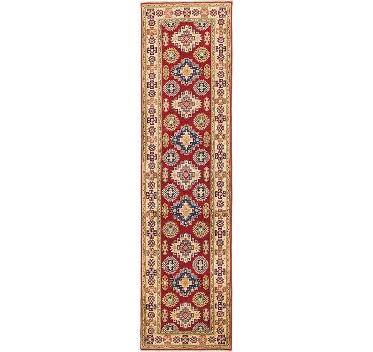 2' 7 x 9' 9 Kazak Runner Rug