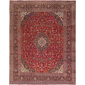 Link to 9' 7 x 12' 2 Kashan Persian Rug item page