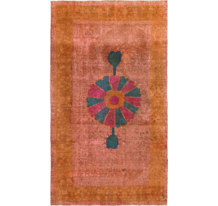 5' 3 x 9' 2 Ultra Vintage Persian Rug