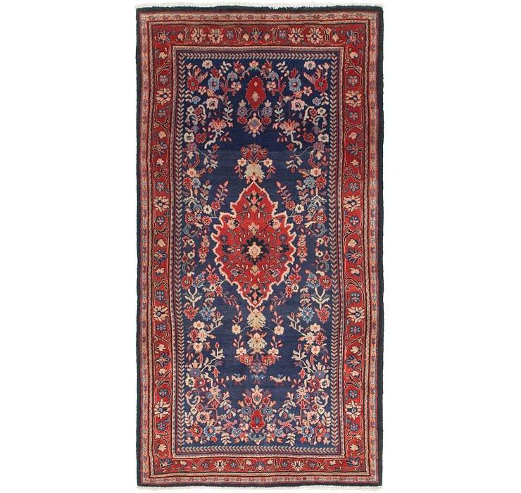 4' 2 x 8' 8 Mahal Persian Runner Rug