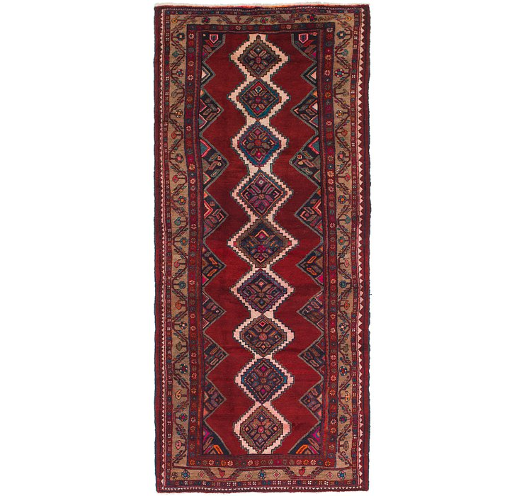 4' 7 x 11' 5 Chenar Persian Runner Rug