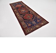 Link to 3' 5 x 9' 10 Khamseh Persian Runner Rug