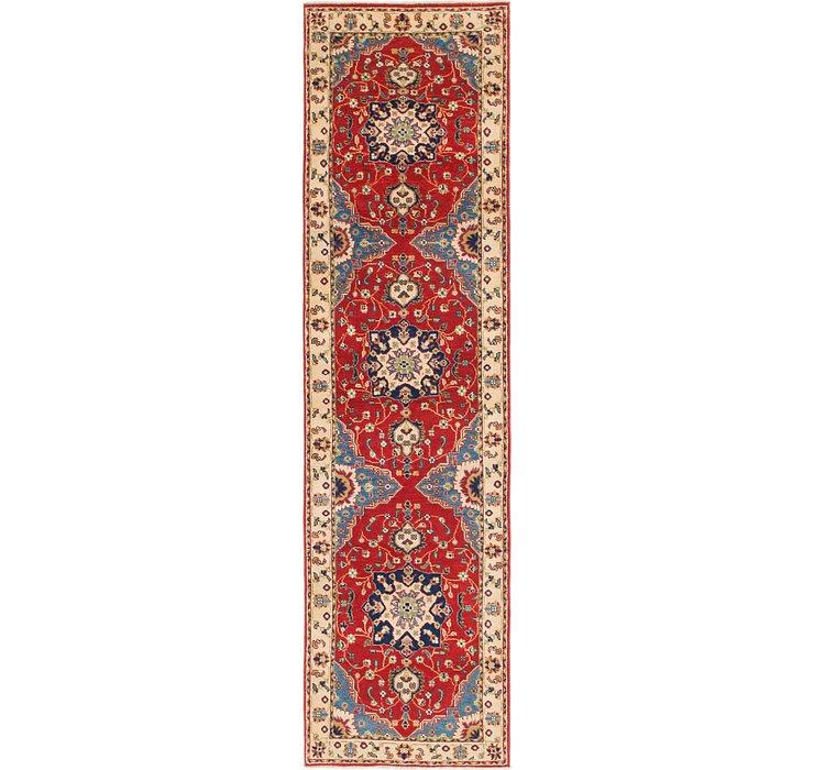 2' 9 x 10' 3 Kazak Runner Rug