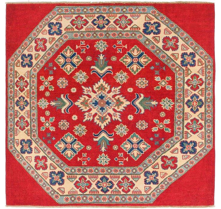 5' x 5' Kazak Square Rug